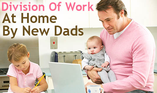 Division Of Work At Home By New Dads