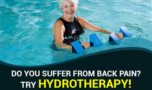 Do You Suffer From Back Pain? Try Hydrotherapy!