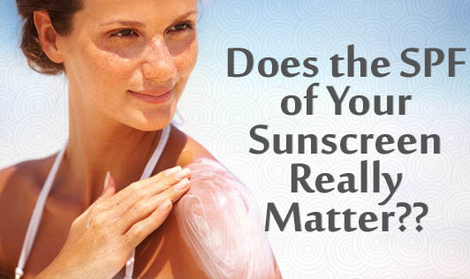 Does the SPF of Your Sunscreen Really Matter??