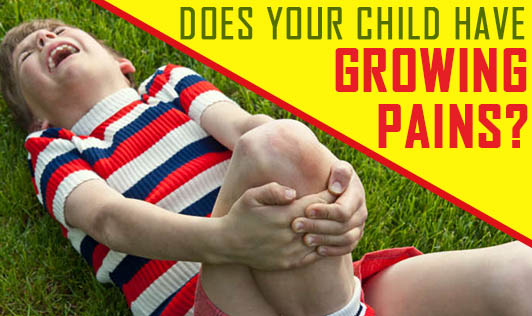 Does your child have growing pains?