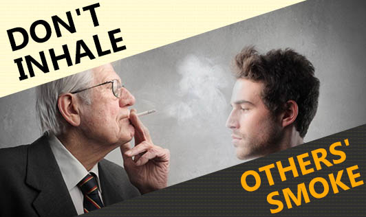 Don't Inhale Others' Smoke
