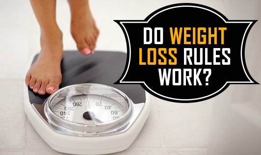 Do weight loss rules work?