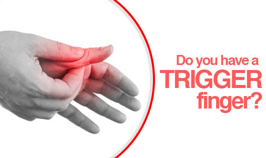 Do you have a Trigger finger?