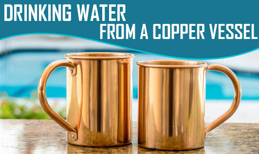 Drinking Water From A Copper Vessel