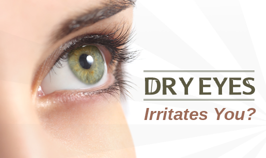 Dry Eyes Irritates You?