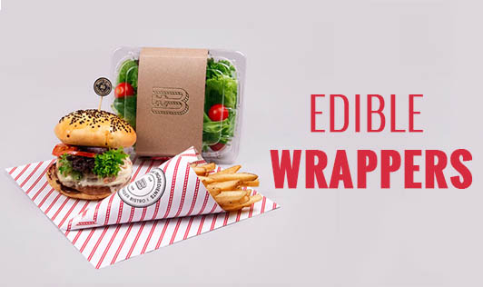 EDIBLE WRAPPERS??