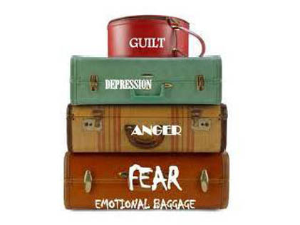 How to let go of your emotional baggage
