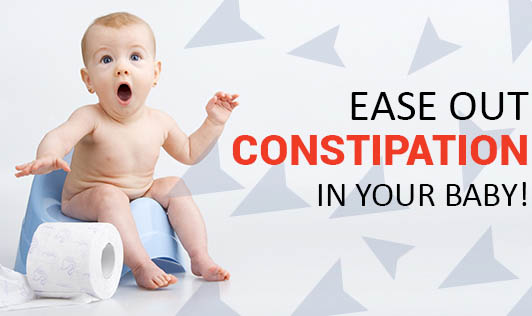 Ease Out Constipation in your Baby!