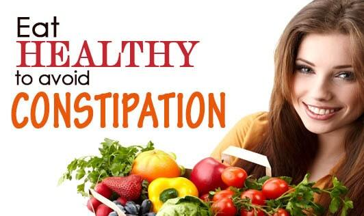 Eat Healthy to Avoid Constipation