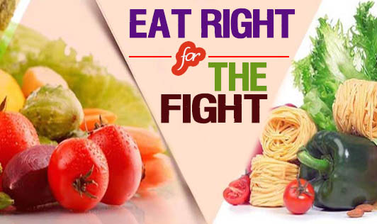 Eat Right for The Fight