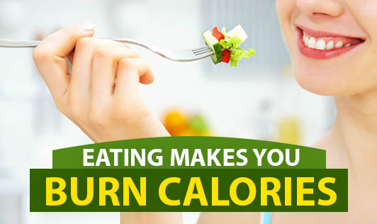 Eating Makes You Burn Calories