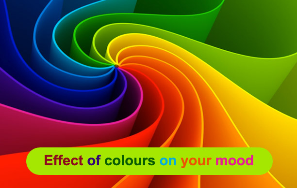 Effect of colours on your mood
