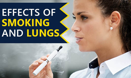 Effects of smoking and lungs