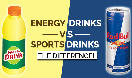 Energy Drinks vs. Sports Drinks, the Difference