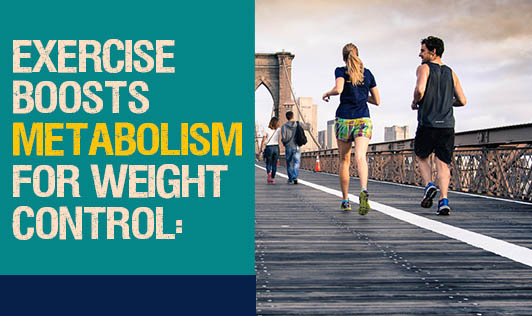 Exercise Boosts Metabolism for Weight Control:
