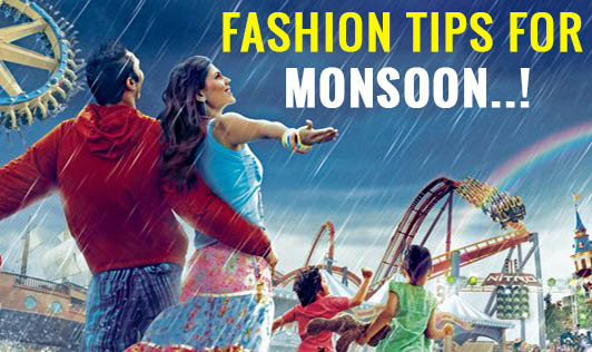 Fashion Tips for monsoon..!!