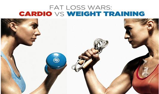 Fat Loss Wars: Cardio Vs. Weight Training