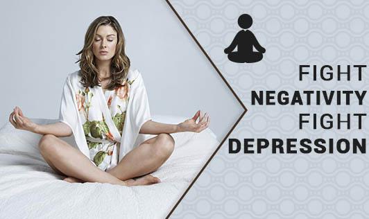 Fight Negativity, Fight Depression.