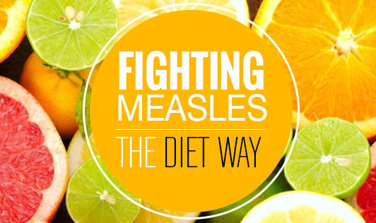 Fighting Measles the diet way