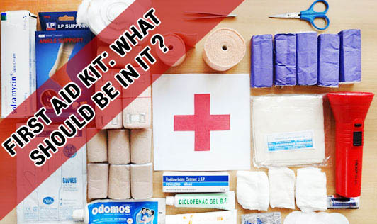 First Aid Kit: What Should Be In It?