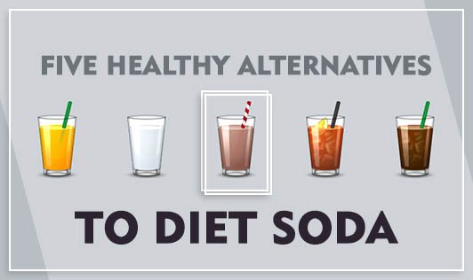 Five healthy alternatives to diet soda