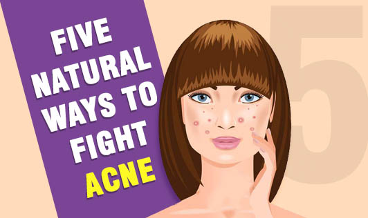 Five natural ways to fight acne