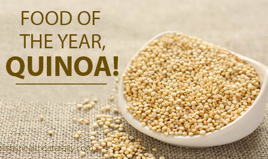 Food of the Year, Quinoa!