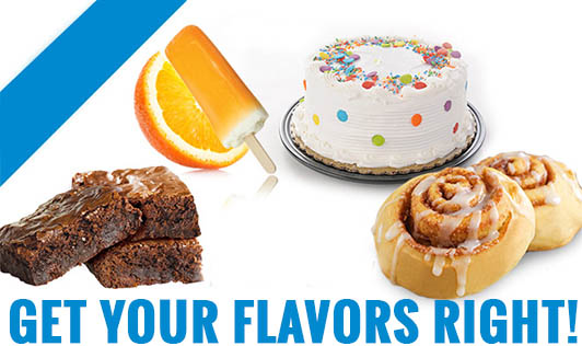 Get Your Flavors Right!