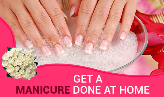 Get a Manicure done at Home