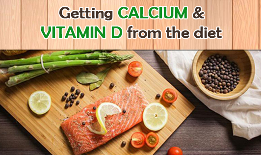 Getting calcium and vitamin D from the diet