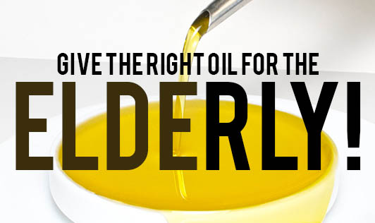 Give The Right Oil For The Elderly!