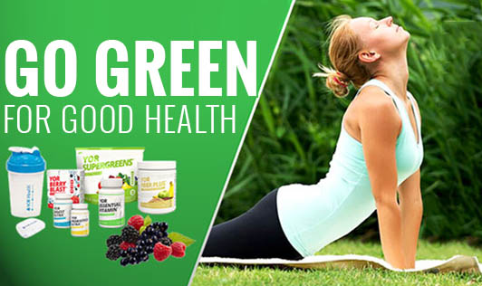 Go Green For Good Health!