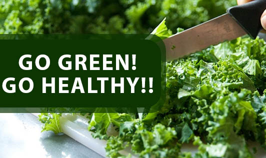 Go Green! Go Healthy!!