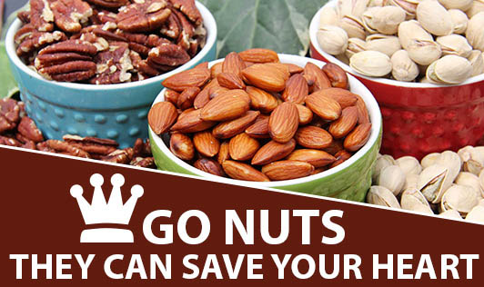Go nuts- They can save your heart!