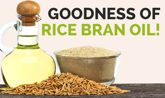 Goodness Of Rice Bran Oil!