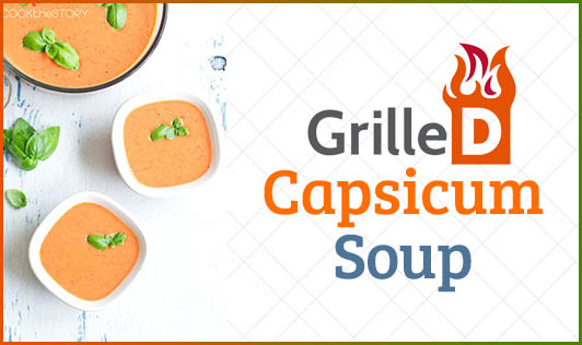 Grilled Capsicum Soup