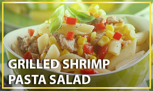 Grilled Shrimp Pasta Salad