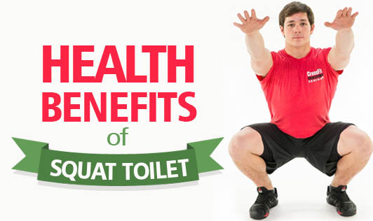 Health Benefits of Squat Toilet