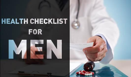 Health Checklist for Men