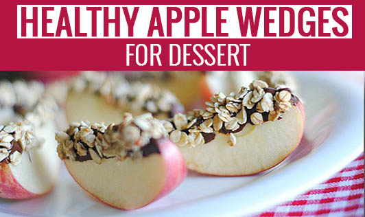 Healthy Apple Wedges for Dessert