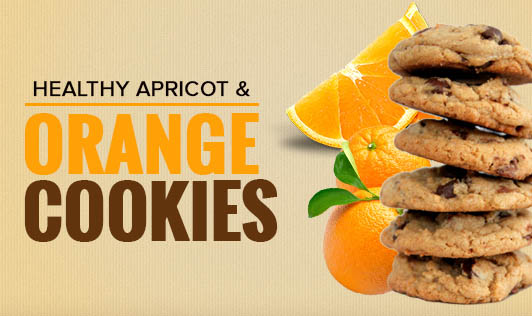 Healthy Apricot & Orange Cookies