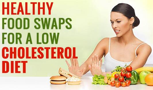 Healthy  Food Swaps for a Low Cholesterol Diet