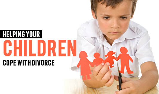 Helping your children cope with divorce