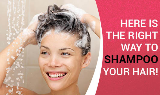 Here is the Right Way to Shampoo Your Hair!