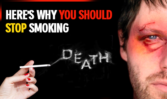 Here's why you should stop smoking