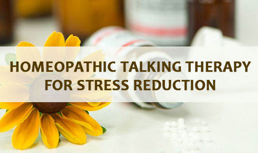 Homeopathic Talking Therapy for Stress Reduction