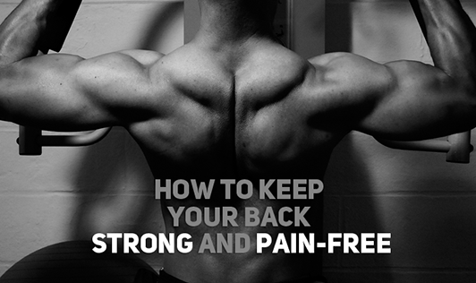 How to keep your back strong and pain-free