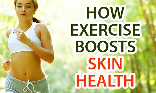 How Exercise Boosts Skin Health