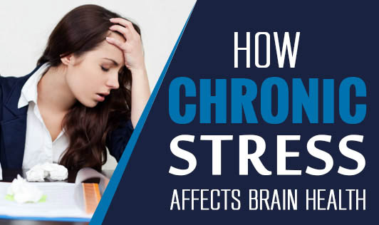 How chronic stress affects brain health