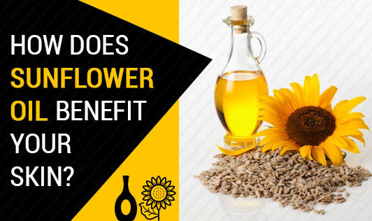 How does sunflower oil benefit your skin?